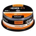 Obrázok pre výrobcu Intenso CD-R, 25-pack, 700MB, 52x, 80min., 12cm, bez možnosti potlače, cake box, Standard, pre archiváciu dát