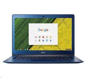 """Obrázok pre výrobcu ACER Chromebook 14 Intel-N3160(2.24GHz) 4GB eMMC 32GB 14"""" FHD matný integr.graf. Blue ChromeOS modrý"""