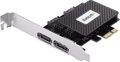 Obrázok pre výrobcu EVOLVEO 2x eSATA & 2x SATA III PCIe, rozšiřující karta