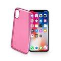 Obrázok pre výrobcu TPU kryt CELLULARLINE COLOR iPhone X, růžové