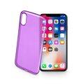 Obrázok pre výrobcu TPU kryt CELLULARLINE COLOR iPhone X, fialové