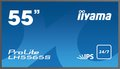 "Obrázok pre výrobcu 55"" LCD iiyama ProLite LH5565S-B1 -IPS,12ms,450cd, 1100:1,24/7,USB media player, light sensor"