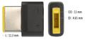 Obrázok pre výrobcu Vyměnitelná koncovka pro 65 W adaptéry FSP/Fortron - LENOVO (bulk) - č. U8