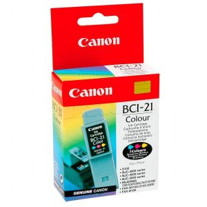 Obrázok pre výrobcu Canon originál ink BCI21C, color, blister, 120str., 0955A351, Canon BJ-C4000, 2000, 4100, 4400, 4650, 5500
