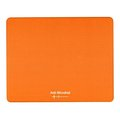 Obrázok pre výrobcu Podložka pod myš, Polyprolylén, oranžová, 24x19cm, 0.4mm, Logo, antimikrobiál.