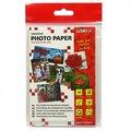 """Obrázok pre výrobcu Logo foto papier, lesklý, biely, 10x15cm, 4x6"""", 180 g/m2, 1440dpi, 20 ks, 20062, atramentový"""