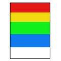 Obrázok pre výrobcu Logo etikety 210mm x 297mm, A4, matné, farebný mix, 1 etiketa, 180g/m2, balené po 10 ks, pre atramentové a laserové tlačiarne