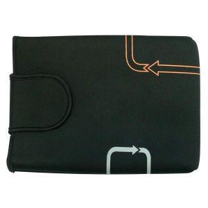 """Obrázok pre výrobcu Obal na notebook 12,1"""" Arrows, čierny z neoprénu, Logo"""