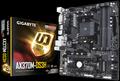 Obrázok pre výrobcu Gigabyte GA-AX370M-DS3H, AM4, DDR4 3200, USB 3.1, DVI-D/HDMI