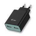 Obrázok pre výrobcu i-tec USB Power Charger 2 Port 2.4A Black