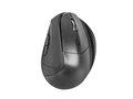 Obrázok pre výrobcu Bezdrátová vertikální myš Natec Crake, 2000 DPI, vestavěná dobíjecí baterie
