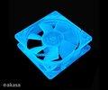Obrázok pre výrobcu přídavný ventilátor Akasa 8 cm - UV modrý
