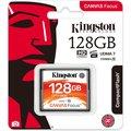 Obrázok pre výrobcu 128GB CompactFlash Canvas Focus Kingston