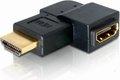 Obrázok pre výrobcu Delock adaptér HDMI A samec/samice, pravoúhlý, vlevo