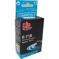 Obrázok pre výrobcu UPrint kompatibil ink s C13T07114011, black, 12ml, E-71B, pre Epson D78, DX4000, DX4050, DX5000, DX5050, DX6000, DX605
