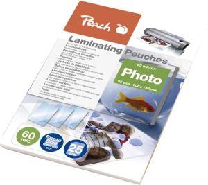 Obrázok pre výrobcu Peach Fólia laminovacia, 106 x 156mm, 60mic, termál., 25ks