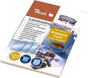 Obrázok pre výrobcu PEACH laminovací folie, Business Card 60x90mm, lesklé, 125mic, 25ks