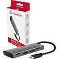 Obrázok pre výrobcu AXAGON HMC-4G2, USB-C 3.2 Gen 2 10 Gb/s hub, porty 2x USB-A + 2x USB-C, kabel USB-C 13cm