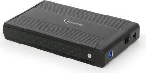 """Obrázok pre výrobcu Gembird externý USB 3.0 case pre 3,5"""" SATA, čierny hliník"""