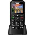 Obrázok pre výrobcu iGET SIMPLE D7 Black, seniorský, Bluetooth, FM rádio, kamera, svítilna,výdrž 15 dní,microSD,stojánek