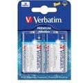 Obrázok pre výrobcu VERBATIM Alkalické baterie D, 2 PACK / LR20