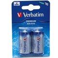 Obrázok pre výrobcu VERBATIM Alkalické baterie C, 2 PACK / LR14