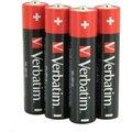 Obrázok pre výrobcu VERBATIM Alkalické baterie AAA, 4 Pack - Shrink