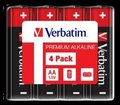 Obrázok pre výrobcu VERBATIM Alkalické baterie AA, 4 Pack - Shrink