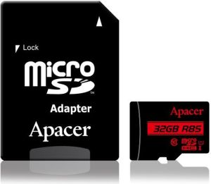 Obrázok pre výrobcu Apacer memory card Micro SDHC 32GB Class 10 UHS-I (up to 85MB/s) +adapter