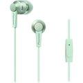 Obrázok pre výrobcu Pioneer stylová špuntová sluchátka, mikrofon zelená