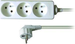 Obrázok pre výrobcu Solid 3z predlžovací prívod, 2m, 3 x 1mm2, biely