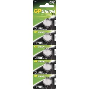 Obrázok pre výrobcu Lithiová baterie GP CR2016 - 1ks