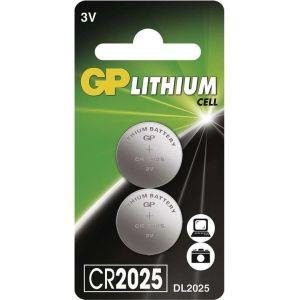 Obrázok pre výrobcu GP CR2025 Lithiová knoflíková baterie (2ks)