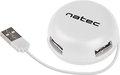 Obrázok pre výrobcu Natec BUMBLEBEE rozbočovač 3x USB 2.0 HUB bílý