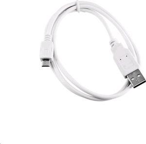 Obrázok pre výrobcu Kabel C-TECH USB 2.0 AM/Micro, 2m, bílý