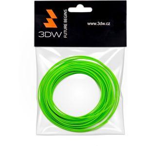 Obrázok pre výrobcu 3DW - PLA filament 1,75mm fluozelen.,10m, tisk 190-210°C