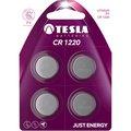 Obrázok pre výrobcu TESLA - baterie TESLA CR1220, 4ks, CR1220
