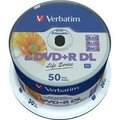Obrázok pre výrobcu Verbatim DVD+R, 97693, DataLife PLUS, 1ks, 8.5GB, 8x, 12cm, General, Double Layer, Wide Printable Surface Inverse St