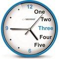 Obrázok pre výrobcu Esperanza EHC014B PRAGUE nástenné hodiny, modré