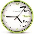 Obrázok pre výrobcu Esperanza EHC014G PRAGUE nástenné hodiny, zelené