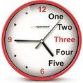 Obrázok pre výrobcu Esperanza EHC014R PRAGUE nástenné hodiny, červené